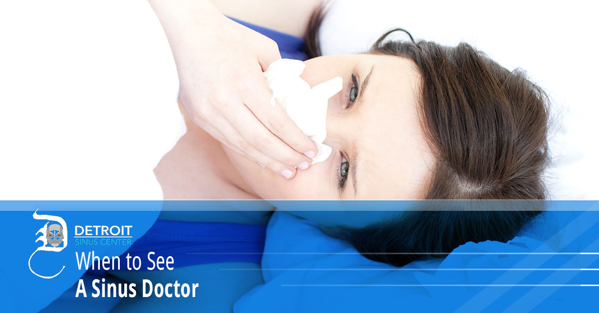 When to See a Sinus Doctor