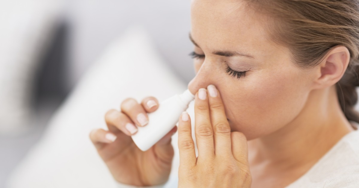 Types of Nasal Sprays Explained